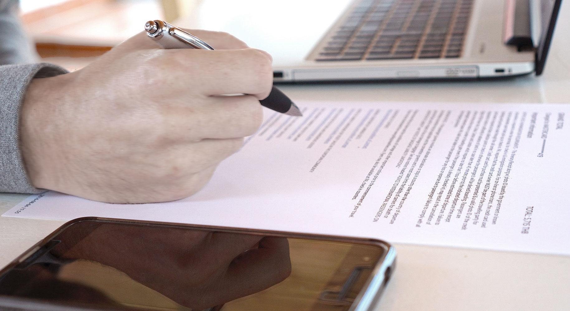 I documenti da presentare nel Noleggio a Lungo Termine